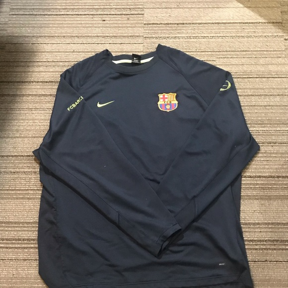 hot sale online 4eee8 3bcad Vintage Nike Barcelona Goalie Jersey